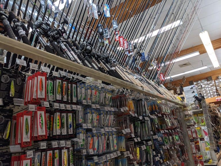 Tons of fishing tackle